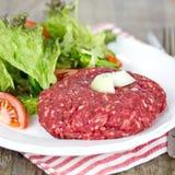 Hamburger raro fotografie stock