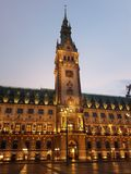 Hamburger Rathaus Obraz Royalty Free