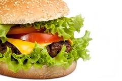 Hamburger saboroso Fotografia de Stock