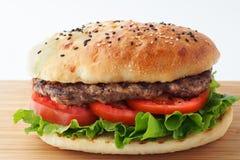Hamburger sain Photographie stock libre de droits