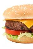 Hamburger saporito Fotografie Stock