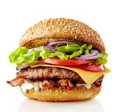 Hamburger savoureux frais photo libre de droits