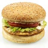 hamburger serii Zdjęcia Royalty Free