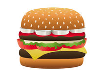 Hamburger Special Stock Photo