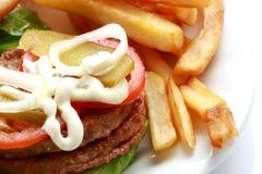 Hamburger squisito Fotografia Stock Libera da Diritti
