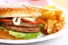 Hamburger squisito Fotografia Stock