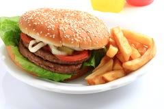 Hamburger squisito Immagine Stock