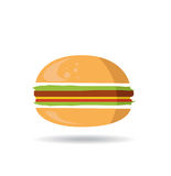 Hamburger symbol Royalty Free Stock Images