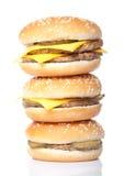 Hamburger tower Royalty Free Stock Photos