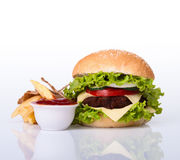 Hamburger royalty free stock photos
