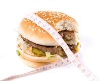 hamburger ukąszenia zabrać Obraz Royalty Free