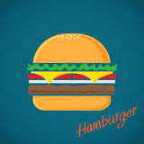 Hamburger vector Stock Photography