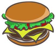 Hamburger vector stock illustration