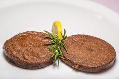 Hamburger vegetarian Stock Photo