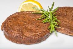 Hamburger vegetarian Stock Images