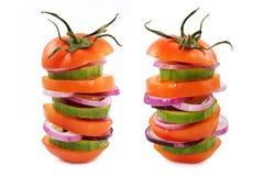 Hamburger vegetariano immagini stock libere da diritti