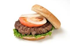 Hamburger on a white background Royalty Free Stock Photos