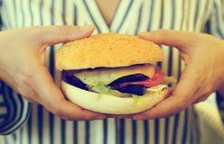 Hamburger. Royalty Free Stock Photos