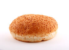 hamburger z white bun Obrazy Stock