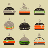 Hamburger2 Royalty Free Stock Photography