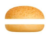 Hamburgerbroodje Stock Foto