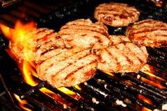 Hamburgers Stock Photo