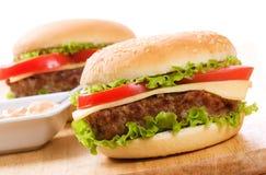 Hamburgers Royalty Free Stock Photography