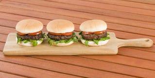 Hamburgers images stock