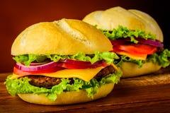 Hamburgers Stock Afbeeldingen