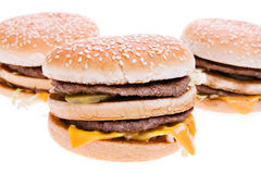 Hamburgers Royalty Free Stock Photos