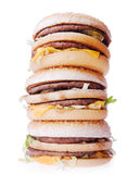 Hamburgers Stock Photo