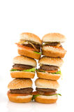 Hamburgers Royalty Free Stock Photography
