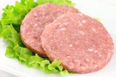 Hamburgers de lapin Photographie stock