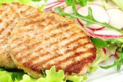 Hamburgers de lapin images libres de droits