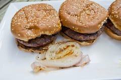 Hamburgers Royalty Free Stock Photo