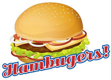 Hamburgers Stock Photography