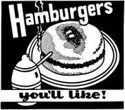 Hamburgers You'll Like 2 stock illustration