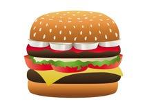 hamburgeru dodatek specjalny Zdjęcie Stock