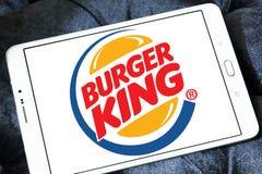 hamburgeru królewiątka logo Obrazy Stock