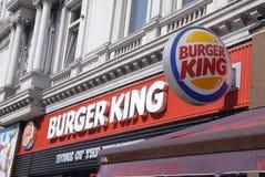 hamburgeru królewiątko Fotografia Stock