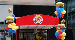 hamburgeru królewiątko Zdjęcie Stock