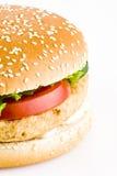 hamburgeru kurczak Fotografia Stock