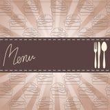 Hamburgeru menu Fotografia Royalty Free