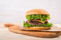 hamburgeru smakowity świeży Fotografia Stock