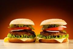 Hamburgery Obrazy Stock