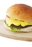 hamburgery Obrazy Royalty Free