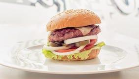 hamburgery Obraz Royalty Free