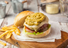 hamburgery Obraz Stock