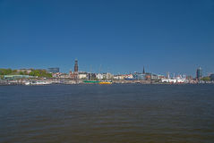 Hamburgo Imagem de Stock Royalty Free