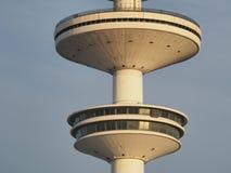 Hamburgo, Alemanha Heinrich Hertz Tower uma torre da telecomunicação do rádio do marco fotografia de stock royalty free